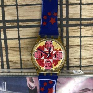Vintage Swatch watch.